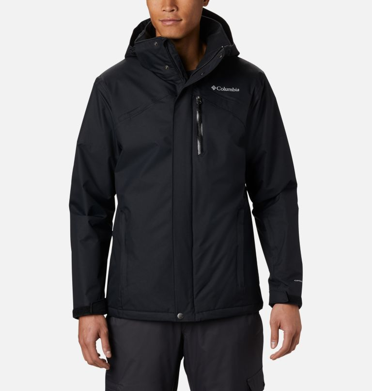Last Tracks™ Jacket | 010 | 3XT Men's Last Tracks™ Jacket - Tall, Black, front