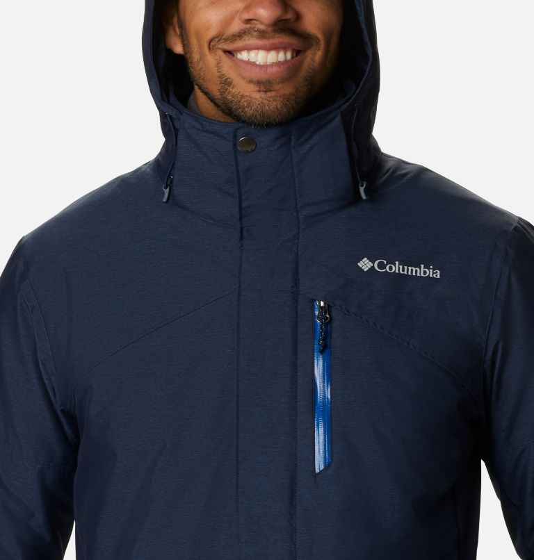 Last Tracks™ Jacket | 464 | XLT Men's Last Tracks™ Jacket - Tall, Collegiate Navy Melange, a2