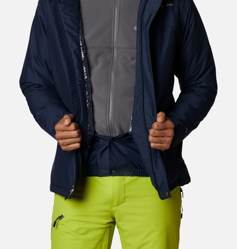 Last Tracks™ Jacket | 464 | XLT Men's Last Tracks™ Jacket - Tall, Collegiate Navy Melange, a6