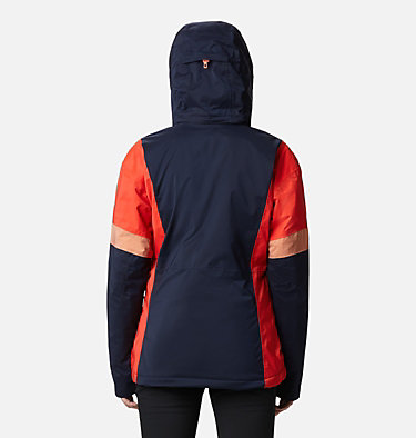Women's Snow Diva™ Insulated Jacket Snow Diva™ Insulated Jacket | 010 | XS, Dark Nocturnal, Bold Orange, Nova Pink, back