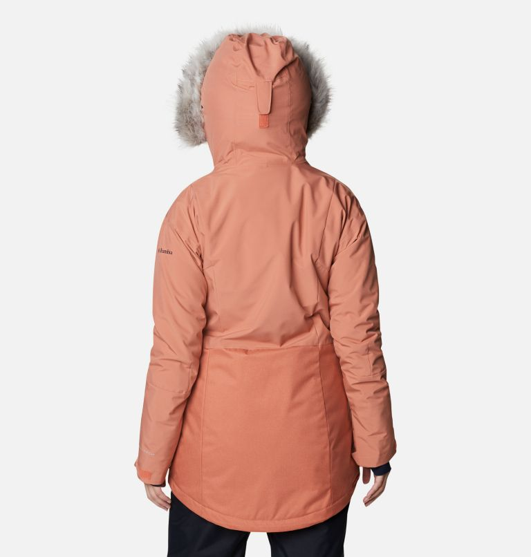 Mount Bindo™ Insulated Jacket | 604 | XS Women's Mount Bindo Insulated Ski Jacket, Nova Pink, back
