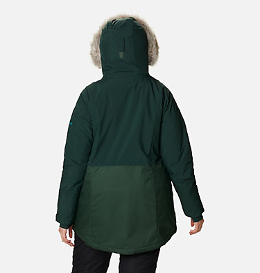 Women's Mount Bindo™ Insulated Jacket - Plus Size Mount Bindo™ Insulated Jacket | 370 | 1X, Spruce, back