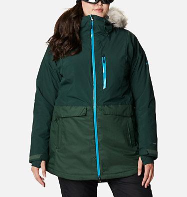 Women's Mount Bindo™ Insulated Jacket - Plus Size Mount Bindo™ Insulated Jacket | 370 | 1X, Spruce, front