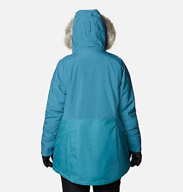 Women's Mount Bindo™ Insulated Jacket - Plus Size Mount Bindo™ Insulated Jacket | 370 | 1X, Canyon Blue, back