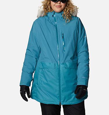 Women's Mount Bindo™ Insulated Jacket - Plus Size Mount Bindo™ Insulated Jacket | 370 | 1X, Canyon Blue, front