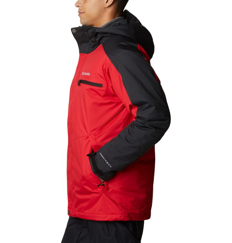Valley Point™ Jacket | 614 | XXL Men's Valley Point™ Jacket, Mountain Red, Black, a1