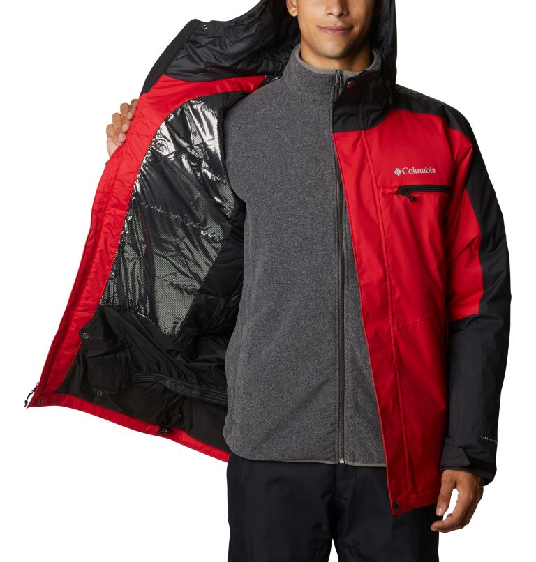 Valley Point™ Jacket | 614 | XXL Men's Valley Point™ Jacket, Mountain Red, Black, a3