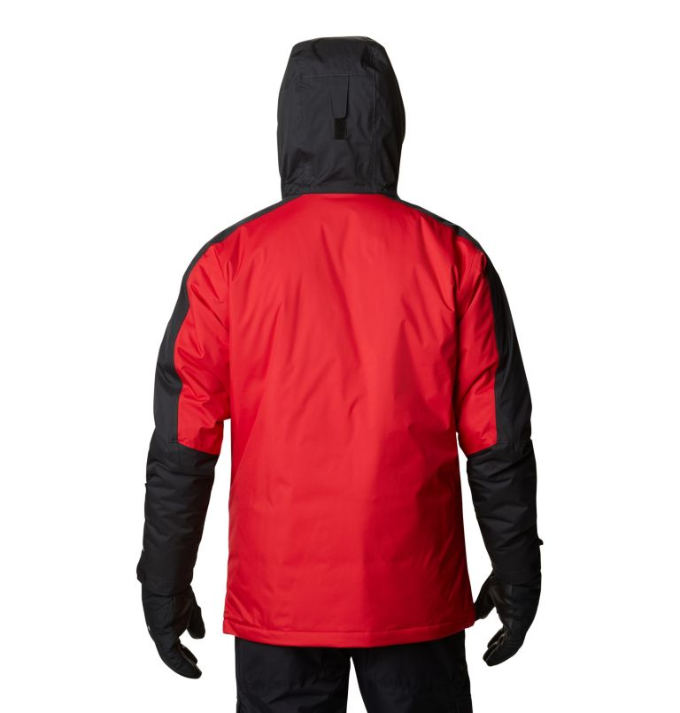 Valley Point™ Jacket | 614 | XXL Men's Valley Point™ Jacket, Mountain Red, Black, back