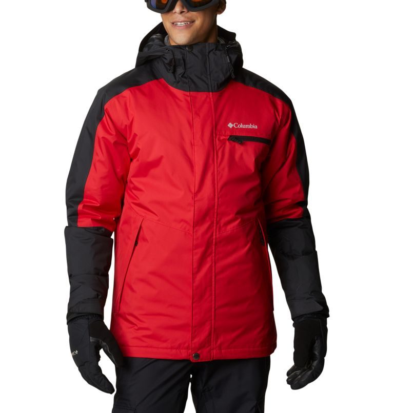 Valley Point™ Jacket | 614 | XXL Men's Valley Point™ Jacket, Mountain Red, Black, front