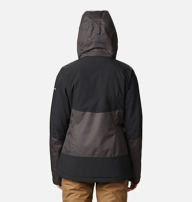 Women's Fall Zone Insulated Jacket Fall Zone™ Insulated Jacket | 462 | L, Shark, Black, back
