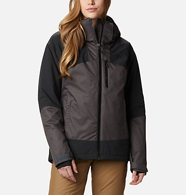 Women's Fall Zone Insulated Jacket Fall Zone™ Insulated Jacket | 462 | L, Shark, Black, front