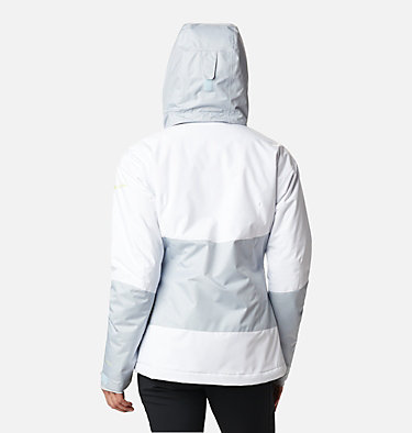 Women's Fall Zone Insulated Jacket Fall Zone™ Insulated Jacket | 462 | L, Cirrus Grey, White, back