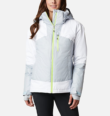 Women's Fall Zone Insulated Jacket Fall Zone™ Insulated Jacket | 462 | L, Cirrus Grey, White, front