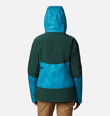 Women's Fall Zone Insulated Jacket Fall Zone™ Insulated Jacket | 462 | L, Fjord Blue, Spruce, back