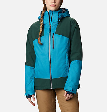Women's Fall Zone Insulated Jacket Fall Zone™ Insulated Jacket | 462 | L, Fjord Blue, Spruce, front