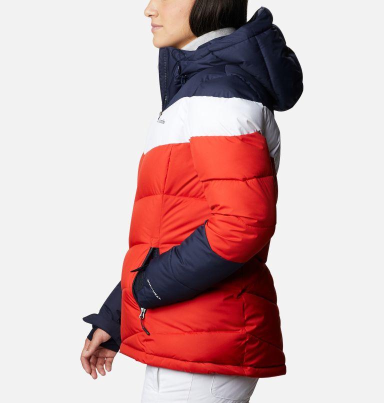 Abbott Peak™ Insulated Jacket | 843 | XL Women's Abbott Peak Insulated Ski Jacket, Bold Orange, Dark Nocturnal, White, a1
