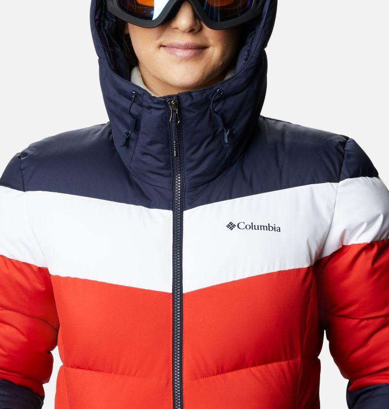 Abbott Peak™ Insulated Jacket | 843 | XL Women's Abbott Peak Insulated Ski Jacket, Bold Orange, Dark Nocturnal, White, a2