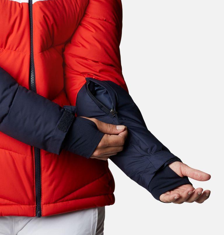 Abbott Peak™ Insulated Jacket | 843 | XL Women's Abbott Peak Insulated Ski Jacket, Bold Orange, Dark Nocturnal, White, a4
