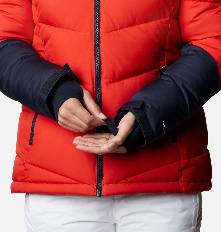 Abbott Peak™ Insulated Jacket   843   XS Women's Abbott Peak Insulated Ski Jacket, Bold Orange, Dark Nocturnal, White, a5