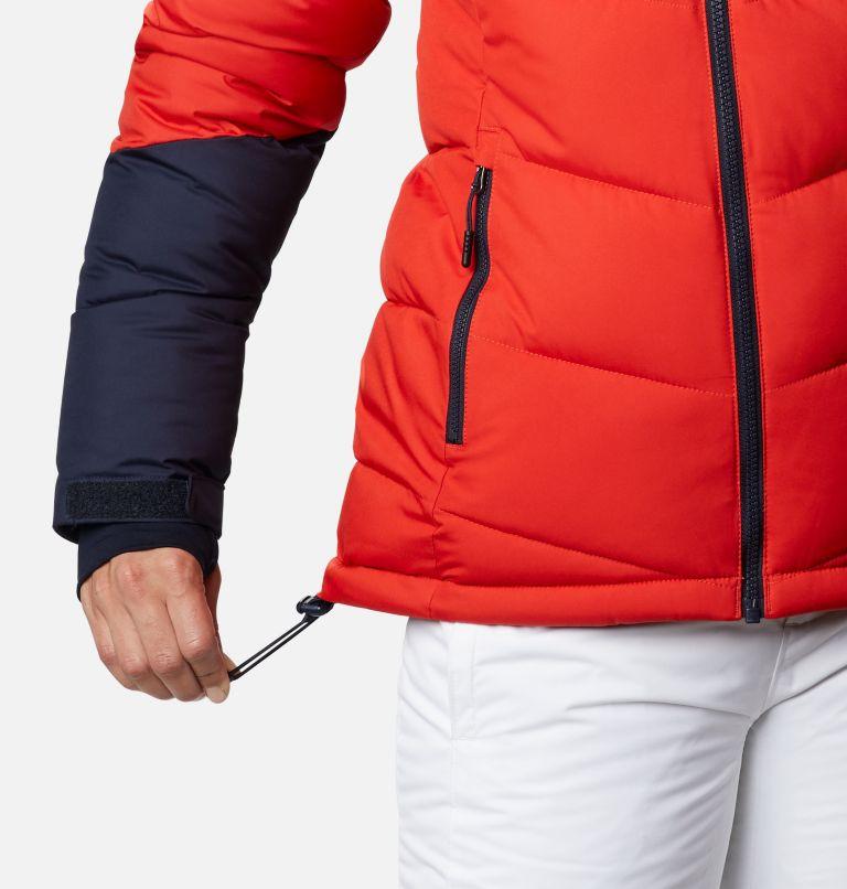Abbott Peak™ Insulated Jacket | 843 | XL Women's Abbott Peak Insulated Ski Jacket, Bold Orange, Dark Nocturnal, White, a6