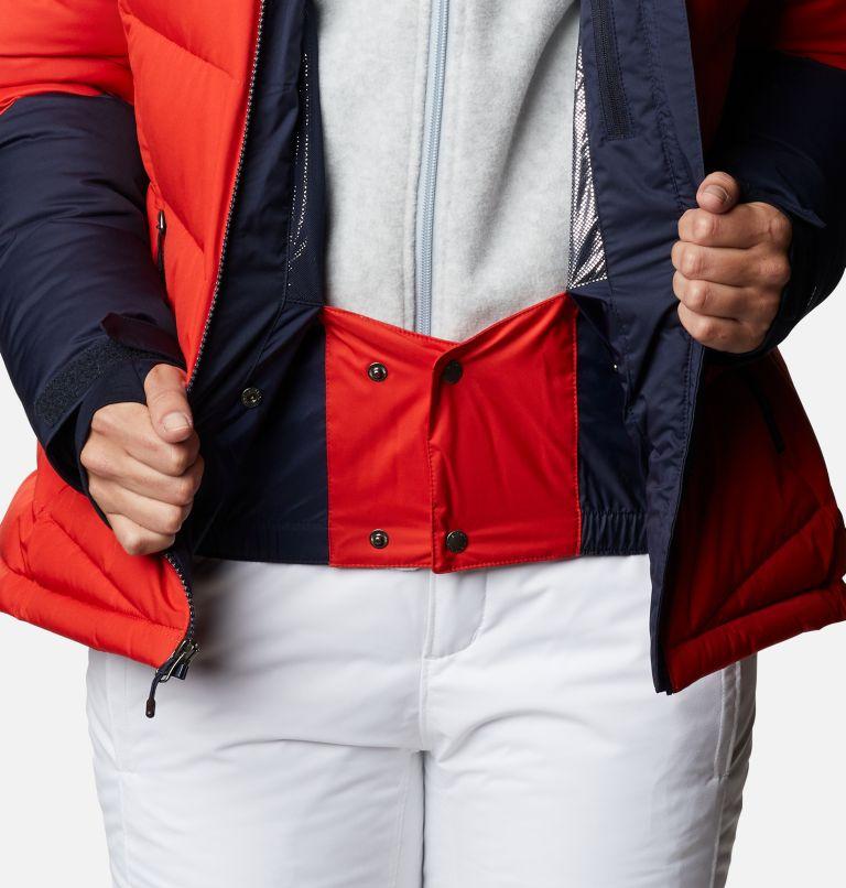 Abbott Peak™ Insulated Jacket | 843 | XL Women's Abbott Peak Insulated Ski Jacket, Bold Orange, Dark Nocturnal, White, a7