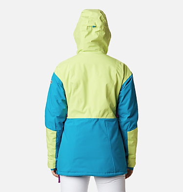 Women's Dust on Crust Insulated Jacket Dust on Crust™ Insulated Jacket | 307 | XL, Voltage, Fjord Blue, Plum, back