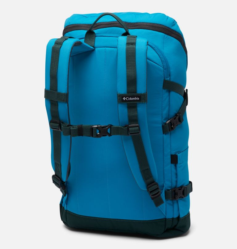 Falmouth™ 24L Backpack | 462 | O/S Unisex Falmouth 24L Backpack, Fjord Blue, Spruce, back