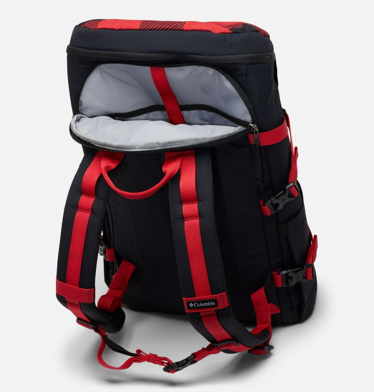 Falmouth™ 24L Backpack | 613 | O/S Unisex Falmouth 24L Backpack, Mountain Red Check Print, Black, a1