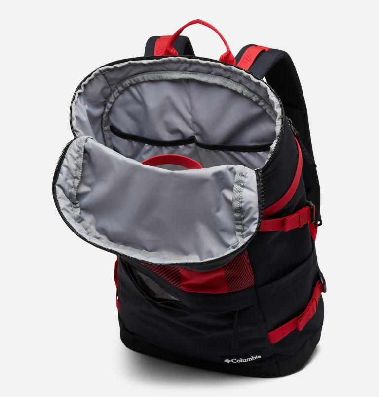 Falmouth™ 24L Backpack | 613 | O/S Unisex Falmouth 24L Backpack, Mountain Red Check Print, Black, a2