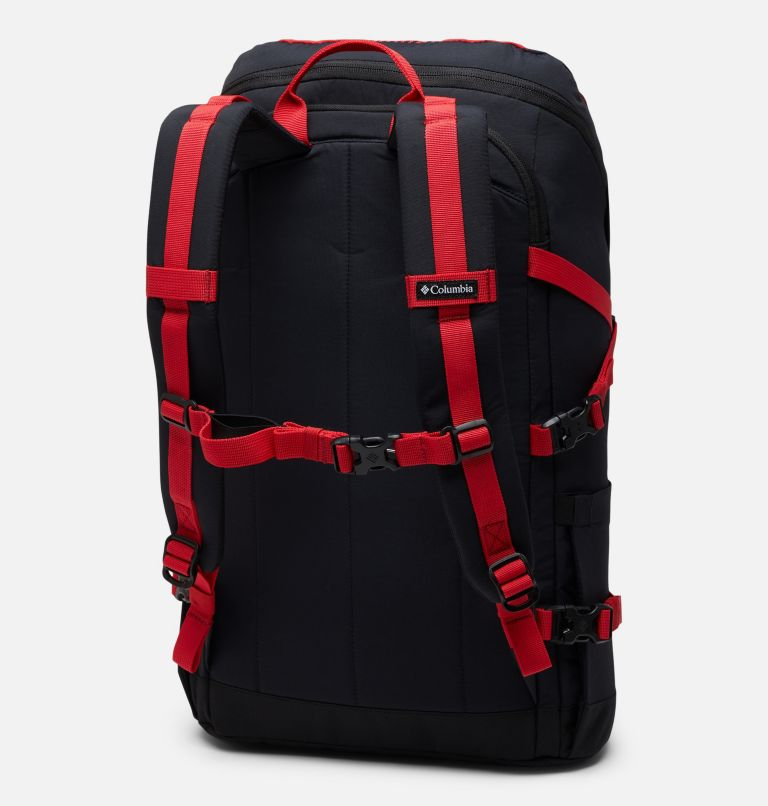 Falmouth™ 24L Backpack | 613 | O/S Unisex Falmouth 24L Backpack, Mountain Red Check Print, Black, back
