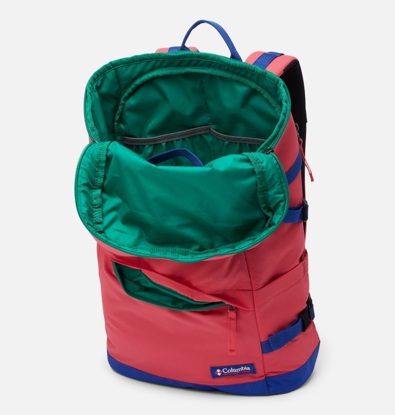 Falmouth™ 24L Backpack | 673 | O/S Falmouth™ 24L Backpack, Bright Geranium, Lapis Blue, a1