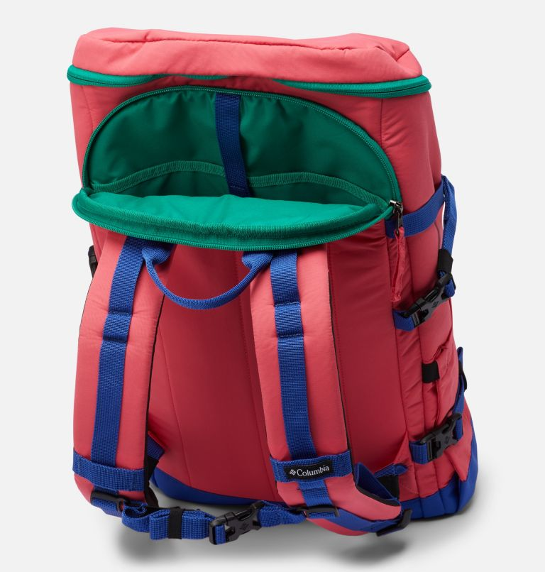 Falmouth™ 24L Backpack | 673 | O/S Falmouth™ 24L Backpack, Bright Geranium, Lapis Blue, a2