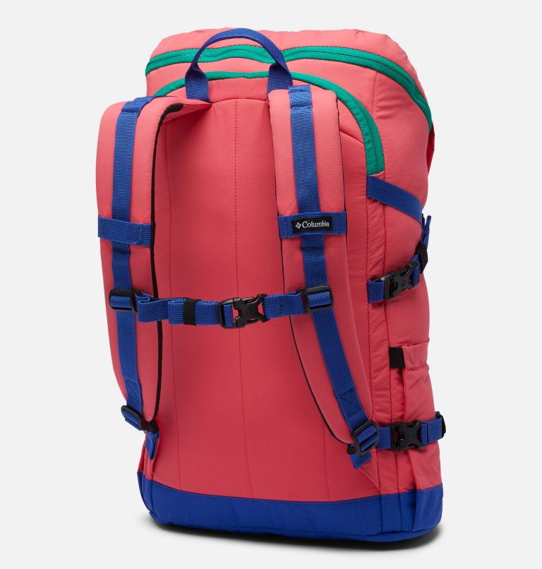 Falmouth™ 24L Backpack | 673 | O/S Falmouth™ 24L Backpack, Bright Geranium, Lapis Blue, back