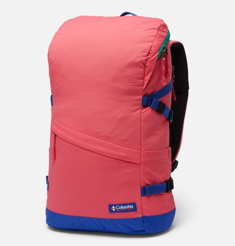 Falmouth™ 24L Backpack | 673 | O/S Falmouth™ 24L Backpack, Bright Geranium, Lapis Blue, front