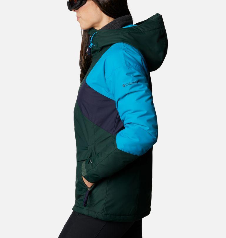 Alpine Diva™ Insulated Jacket | 370 | S Women's Alpine Diva™ Insulated Ski Jacket, Spruce, Fjord Blue, Dark Nocturnal, a1