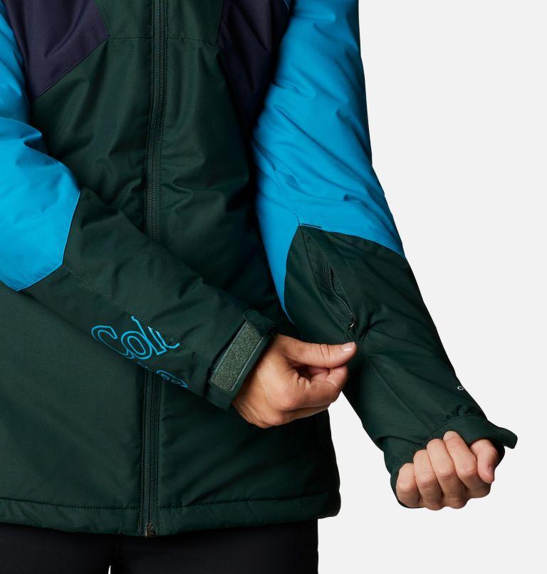 Alpine Diva™ Insulated Jacket | 370 | S Women's Alpine Diva™ Insulated Ski Jacket, Spruce, Fjord Blue, Dark Nocturnal, a5