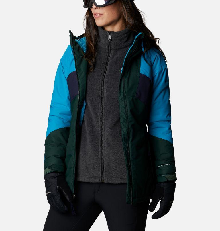 Alpine Diva™ Insulated Jacket | 370 | S Women's Alpine Diva™ Insulated Ski Jacket, Spruce, Fjord Blue, Dark Nocturnal, a7