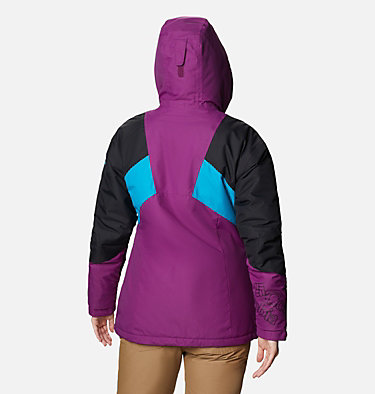 Alpine Diva™ Isolationsjacke für Frauen Alpine Diva™ Insulated Jacket | 370 | XS, Plum, Black, Fjord Blue, back