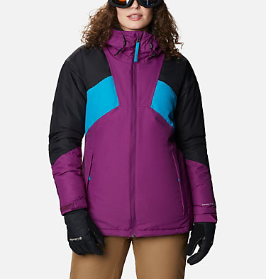 Alpine Diva™ Isolationsjacke für Frauen Alpine Diva™ Insulated Jacket | 370 | XS, Plum, Black, Fjord Blue, front