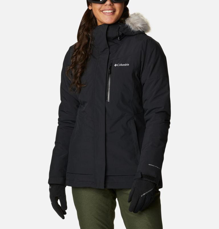 Ava Alpine™ Insulated Jacket | 010 | L Women's Ava Alpine Insulated Ski Jacket, Black, front
