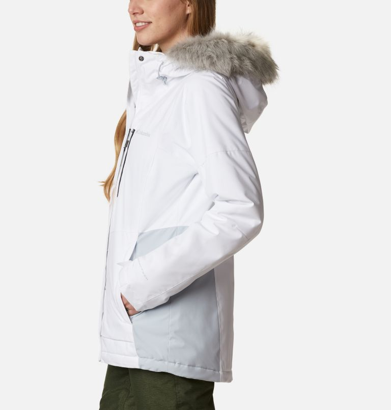 Ava Alpine™ Insulated Jacket | 100 | M Women's Ava Alpine Insulated Ski Jacket, White, Cirrus Grey, a1