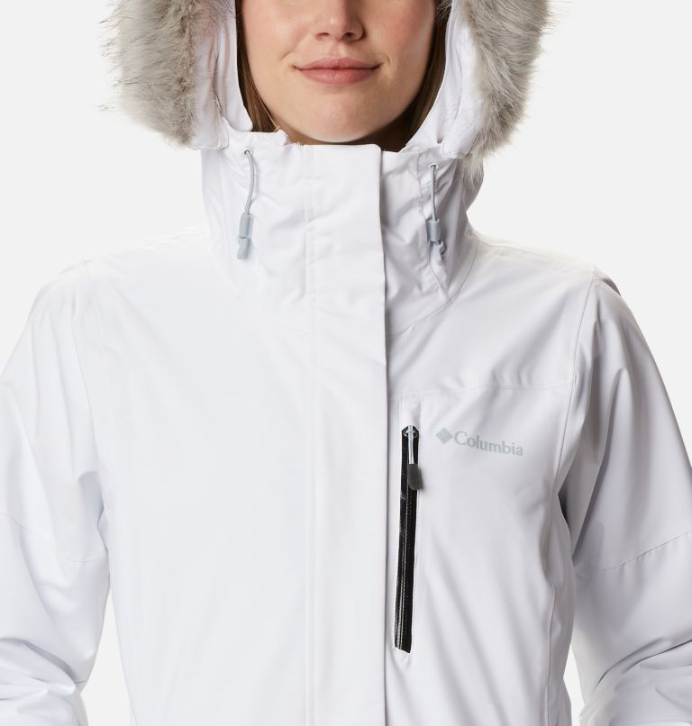 Ava Alpine™ Insulated Jacket | 100 | L Women's Ava Alpine Insulated Ski Jacket, White, Cirrus Grey, a2