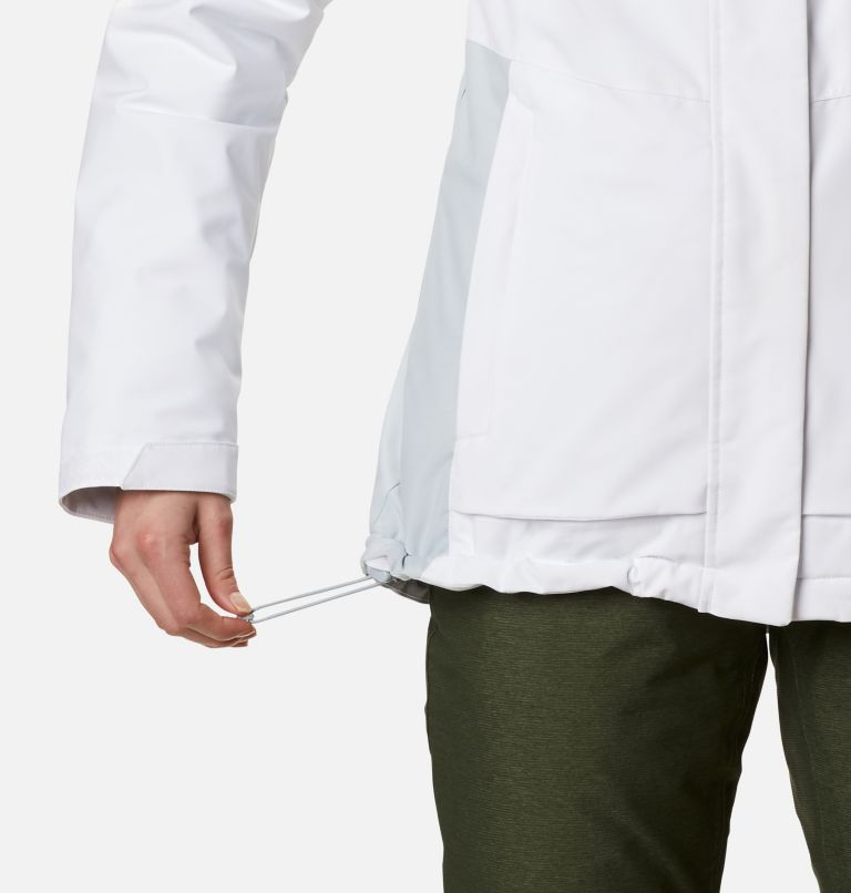 Ava Alpine™ Insulated Jacket   100   XS Women's Ava Alpine Insulated Ski Jacket, White, Cirrus Grey, a5