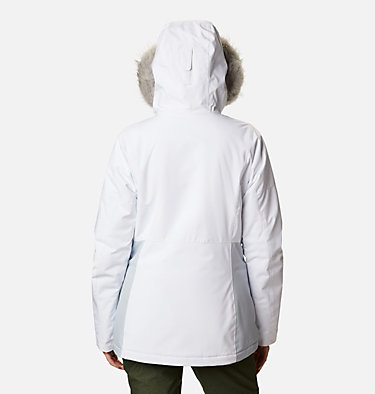 Women's Ava Alpine Insulated Jacket Ava Alpine™ Insulated Jacket | 010 | S, White, Cirrus Grey, back