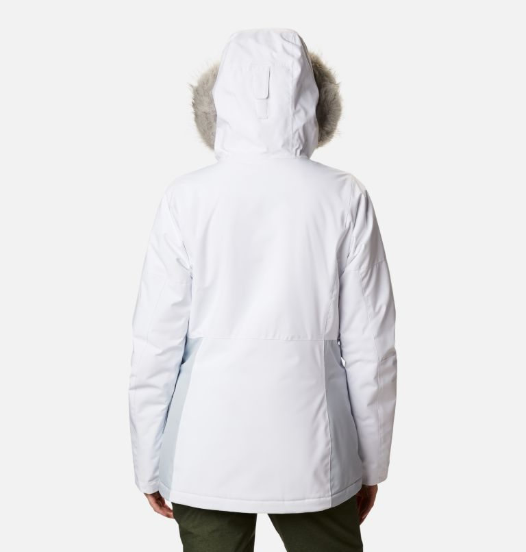 Ava Alpine™ Insulated Jacket | 100 | M Women's Ava Alpine Insulated Ski Jacket, White, Cirrus Grey, back