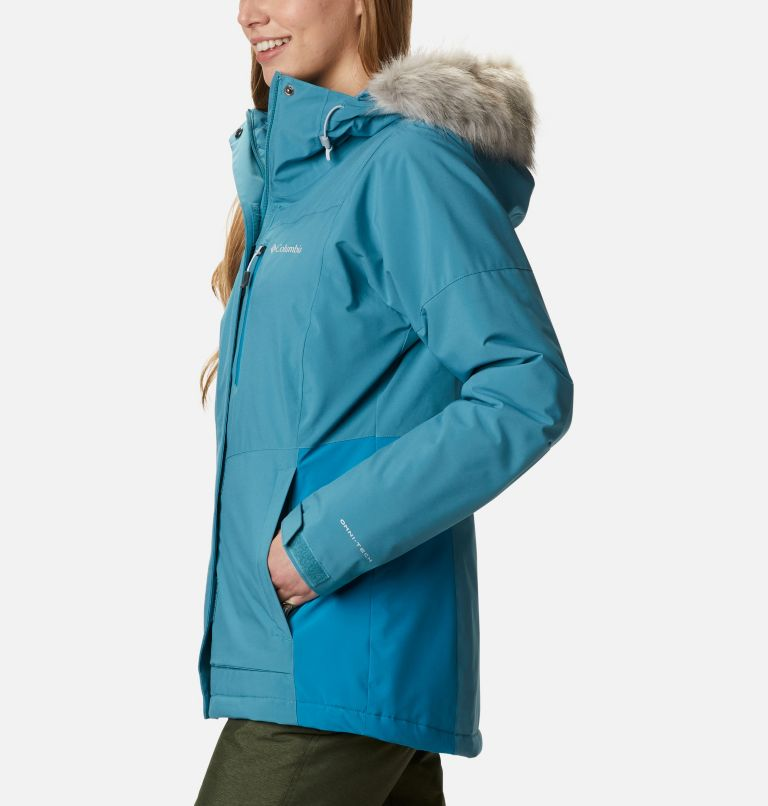 Ava Alpine™ Insulated Jacket | 430 | S Women's Ava Alpine Insulated Ski Jacket, Canyon Blue, Fjord Blue, a1