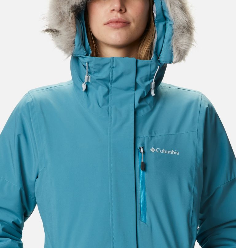 Ava Alpine™ Insulated Jacket | 430 | S Women's Ava Alpine Insulated Ski Jacket, Canyon Blue, Fjord Blue, a2