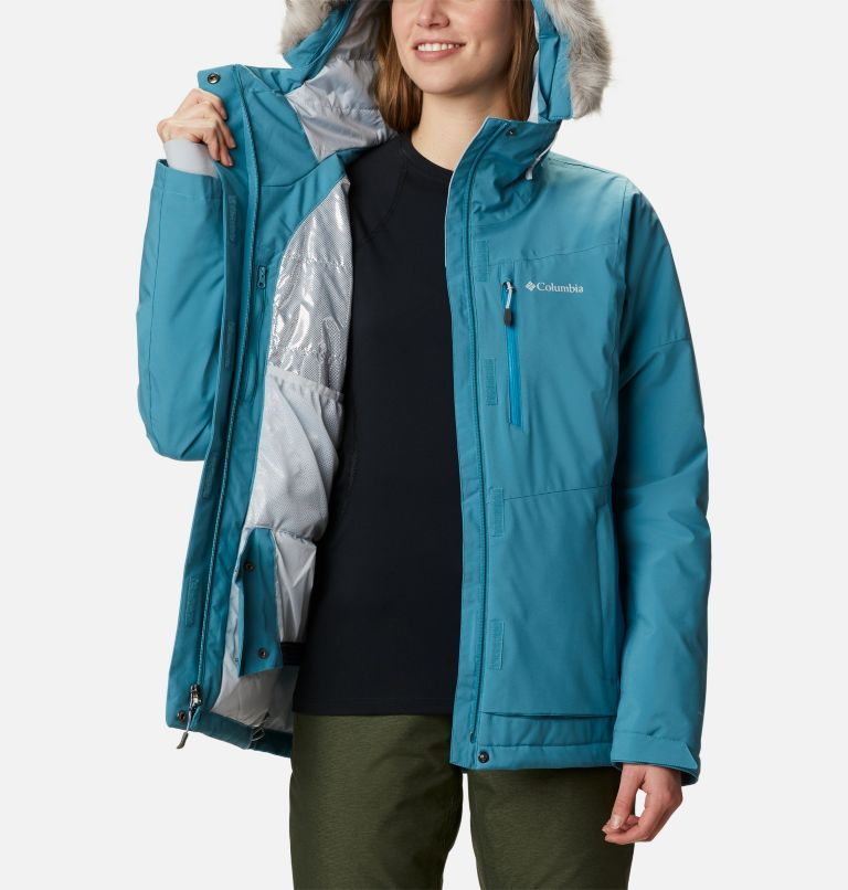 Ava Alpine™ Insulated Jacket | 430 | S Women's Ava Alpine Insulated Ski Jacket, Canyon Blue, Fjord Blue, a3