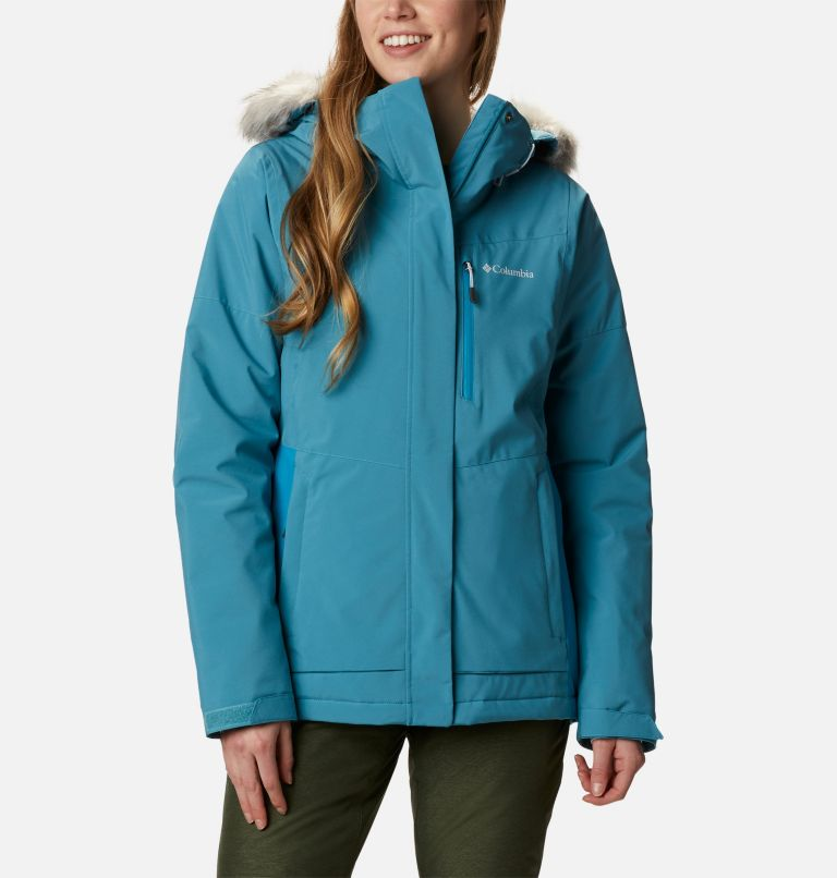 Ava Alpine™ Insulated Jacket | 430 | S Women's Ava Alpine Insulated Ski Jacket, Canyon Blue, Fjord Blue, front
