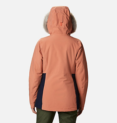 Women's Ava Alpine™ Insulated Jacket Ava Alpine™ Insulated Jacket | 430 | S, Nova Pink, Dark Nocturnal, back